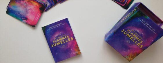 Le Tarot des flammes jumelles : coffret sorti en janvier 2020